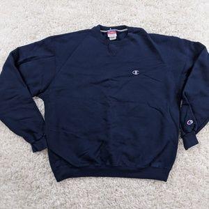 Champion Crew Neck Sweatshirt Men Large A03